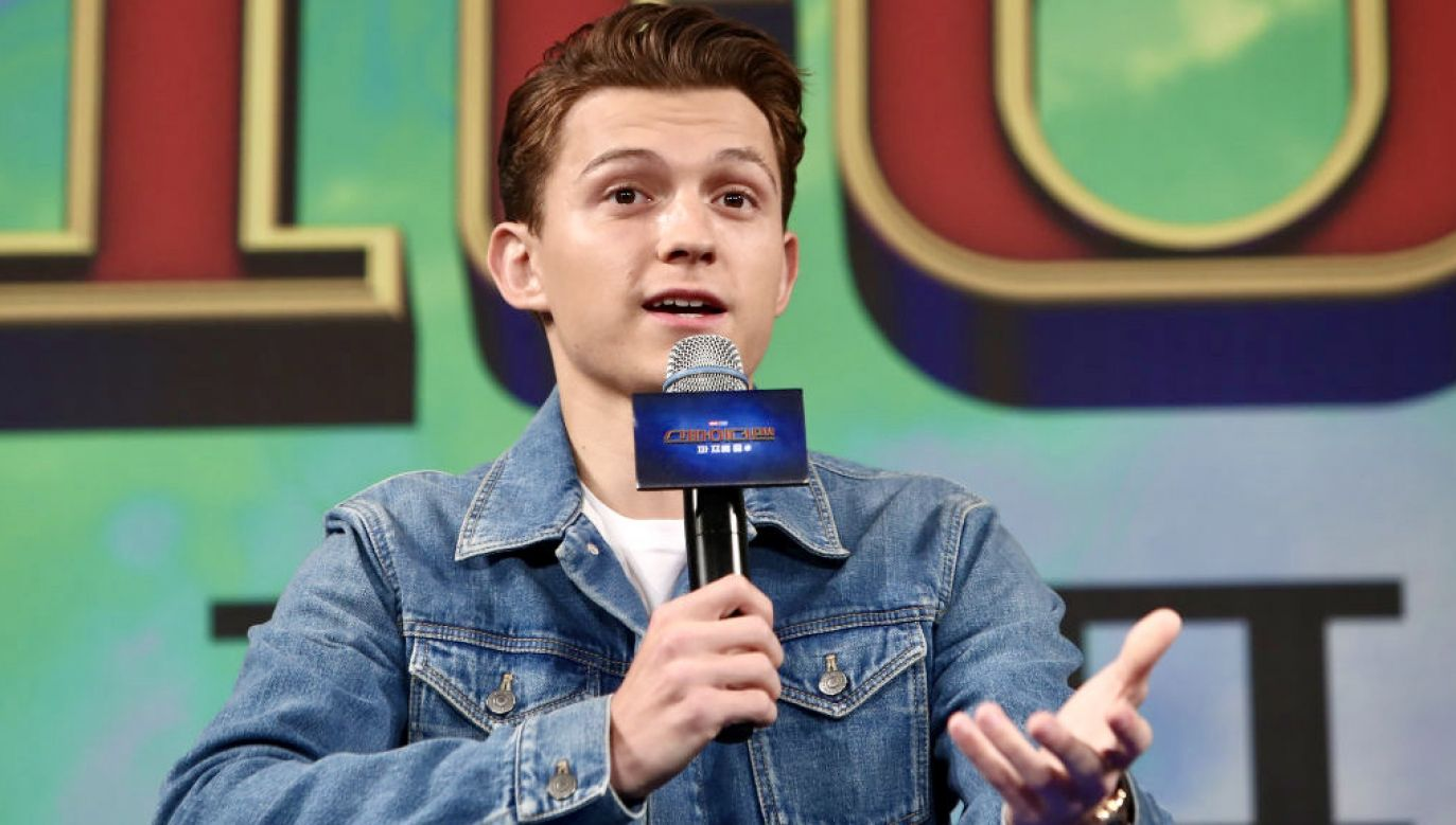 Tom Holland (fot. Chung Sung-Jun/Getty Images)
