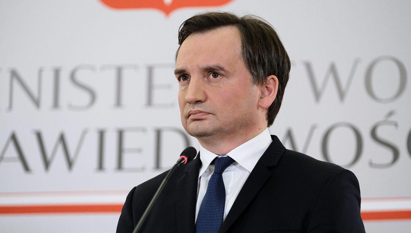 Żona Zbigniewa Ziobry Patrycja Kotecka twierdzi, że artykuł jest oparty na fałszywych zeznaniach przestępcy (fot. PAP/Mateusz Marek)