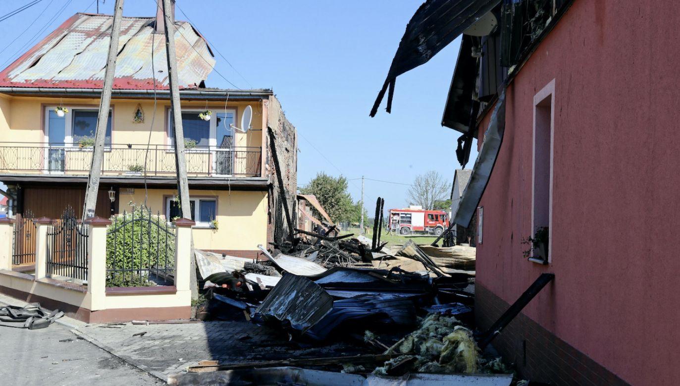 W ciągu ostatnich 20 lat Nowa Biała płonęła kilkakrotnie (fot. PAP/Grzegorz Momot)