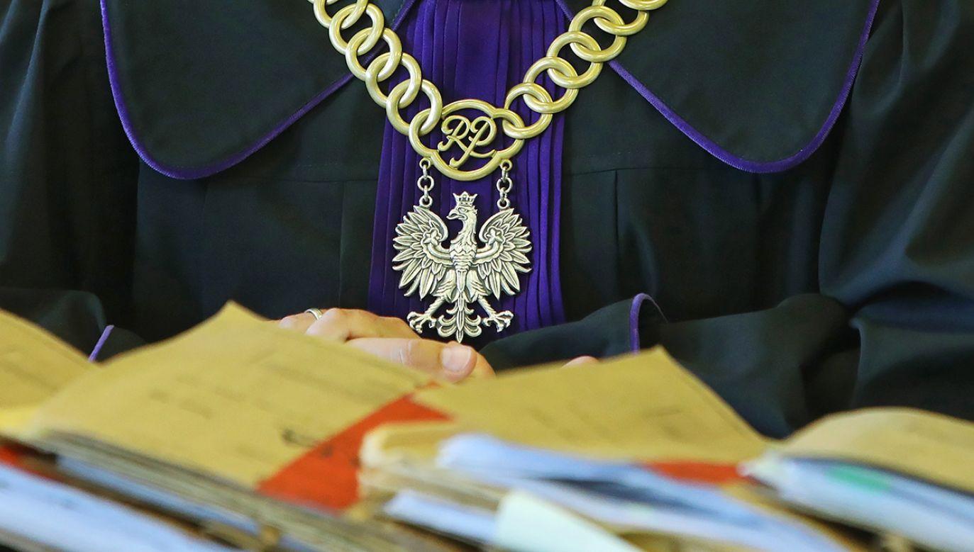 Sędzia Tomasz Szmydt wydał oświadczenie (fot. arch.PAP/Artur Reszko0