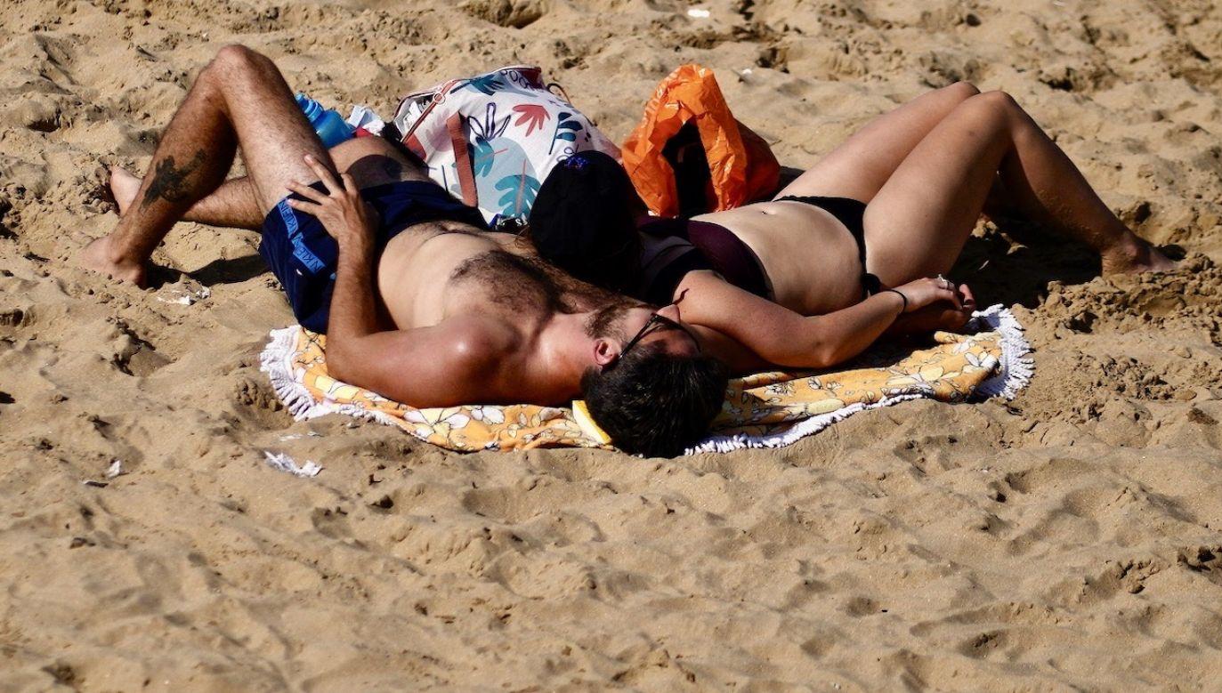 Temperatura maksymalna w kraju od 20°C do 28°C. Słonecznie (fot. PAP/EPA)