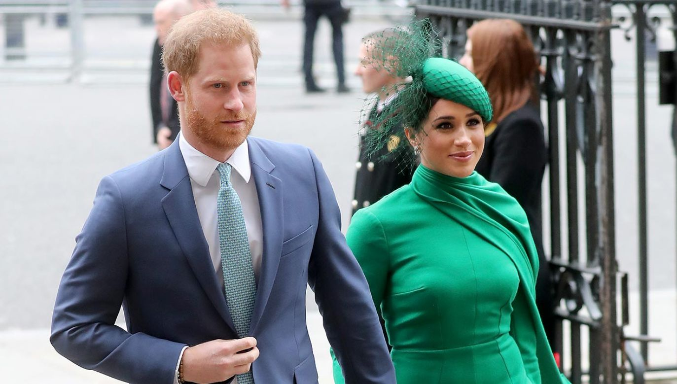 Książę Harry i księżna Meghan (fot. Chris Jackson/Getty Images)