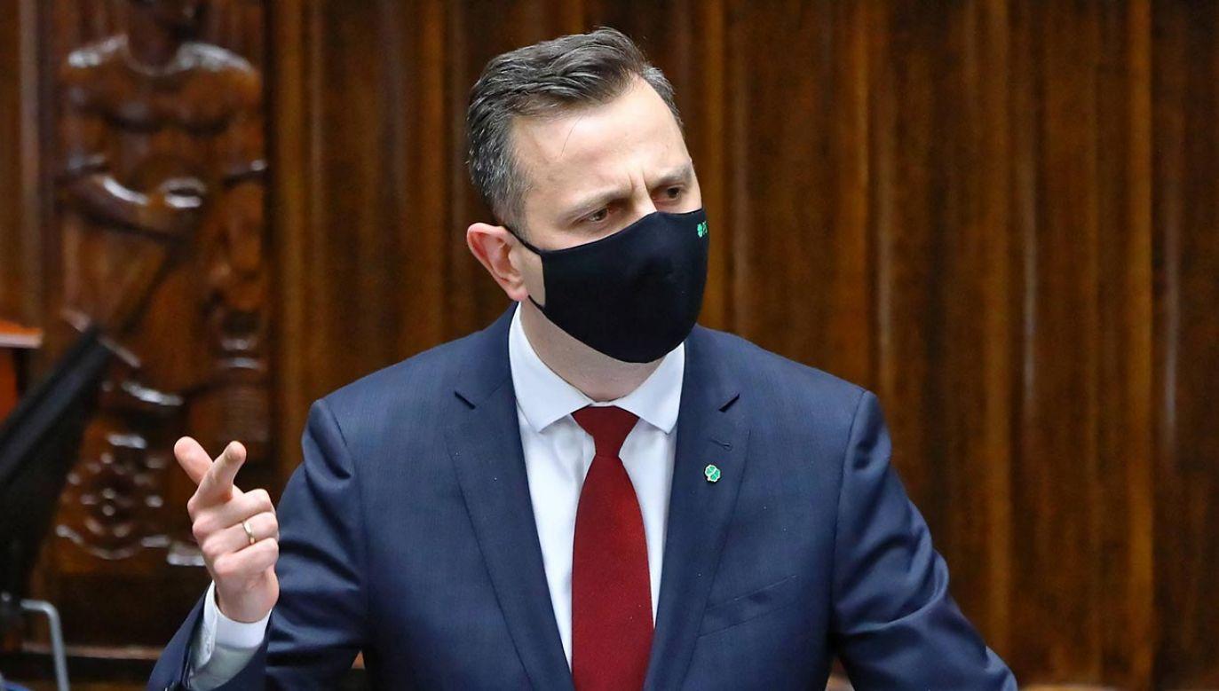 Władysław Kosiniak-Kamysz, lider PSL (fot. PAP/Rafał Guz)