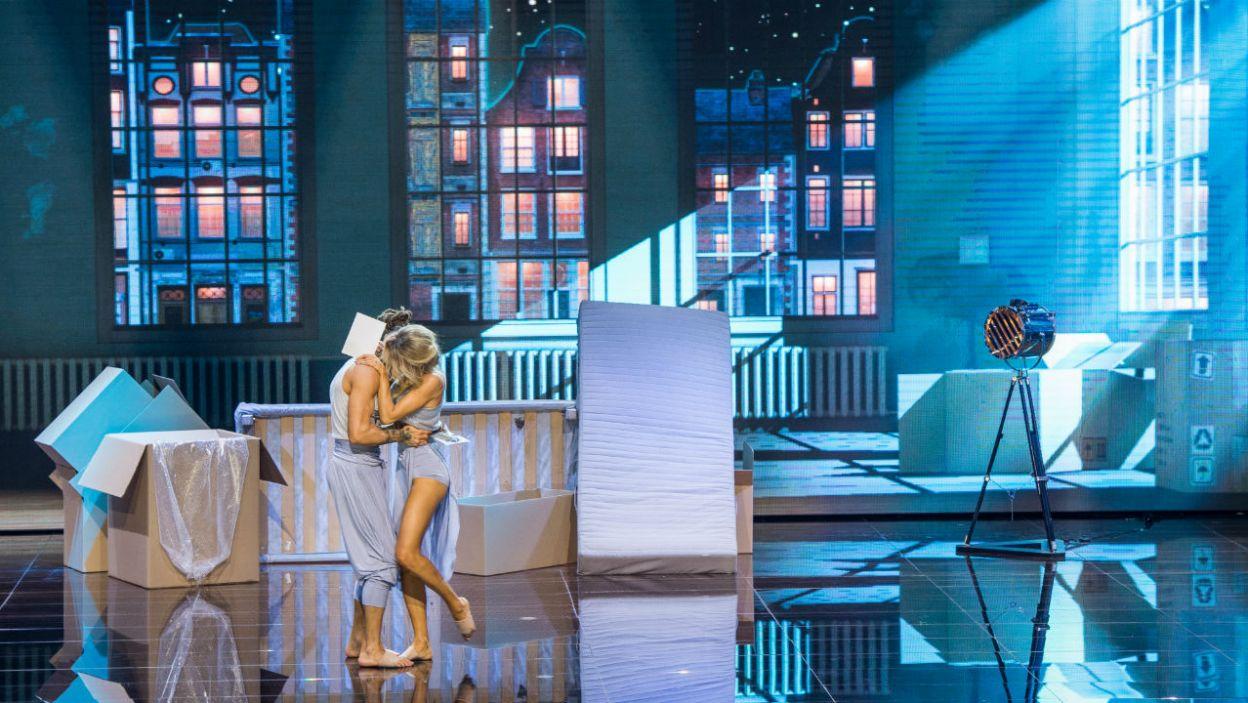 Anna Mucha miała łzy w oczach. Ten taniec był pełen zmysłowości i cierpienia (fot. TVP/W. Kompała)