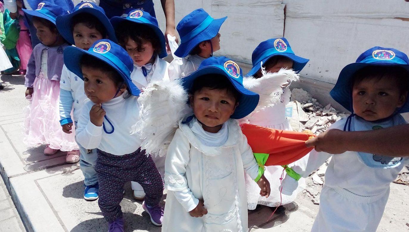 Niepełnosprawne maluchy w Peru potrzebują specjalnej sali (fot. swm.pl)