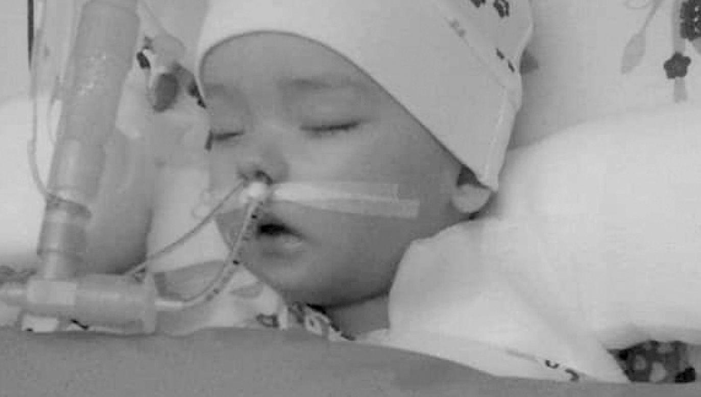 Szymon trafił do szpitala w styczniu (fot. FB/Szymonkuwalcz.Oficjalna strona)