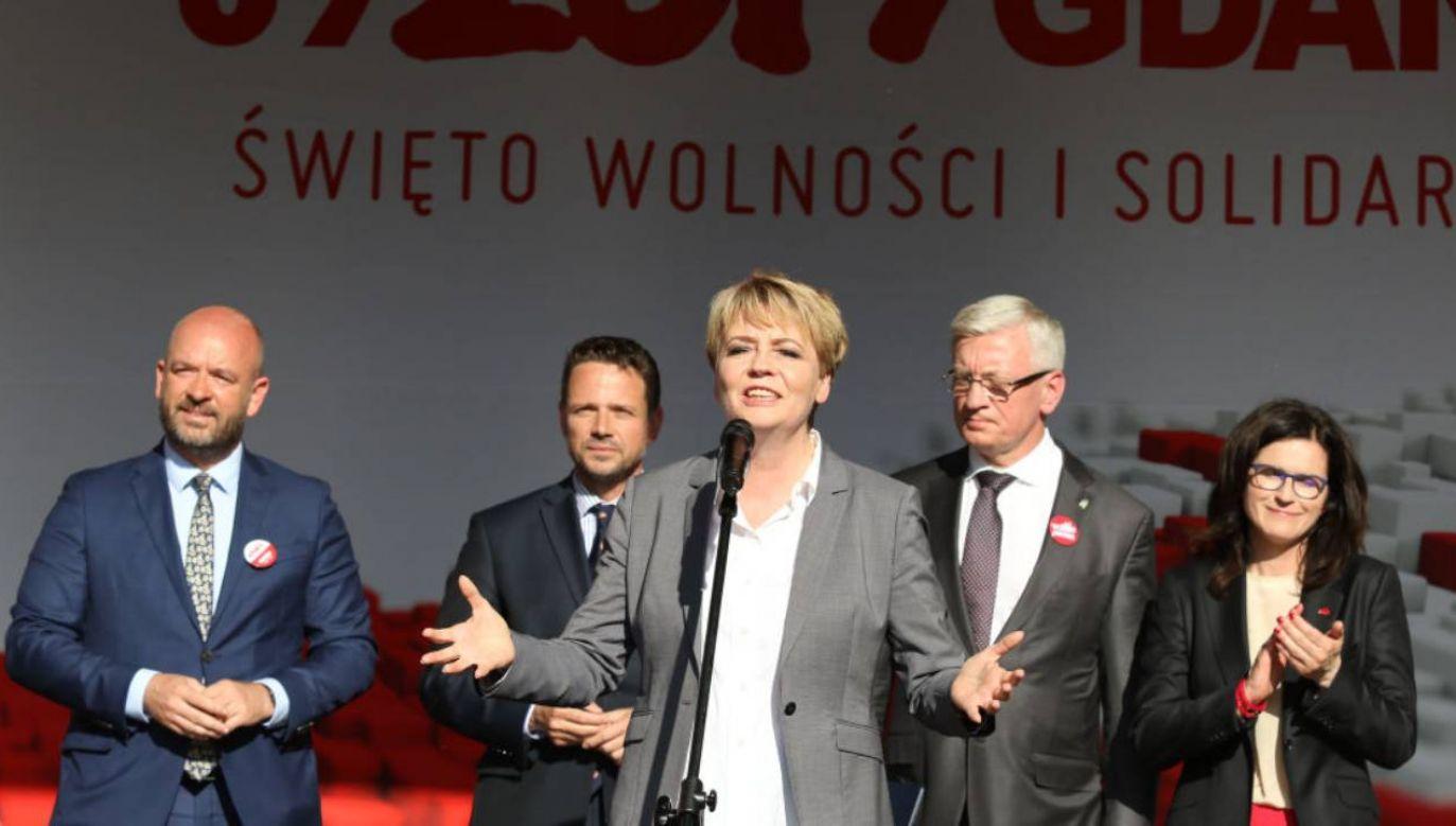 Łodzią zarządza Hanna Zdanowska (fot.Michal Fludra/NurPhoto via Getty Images)