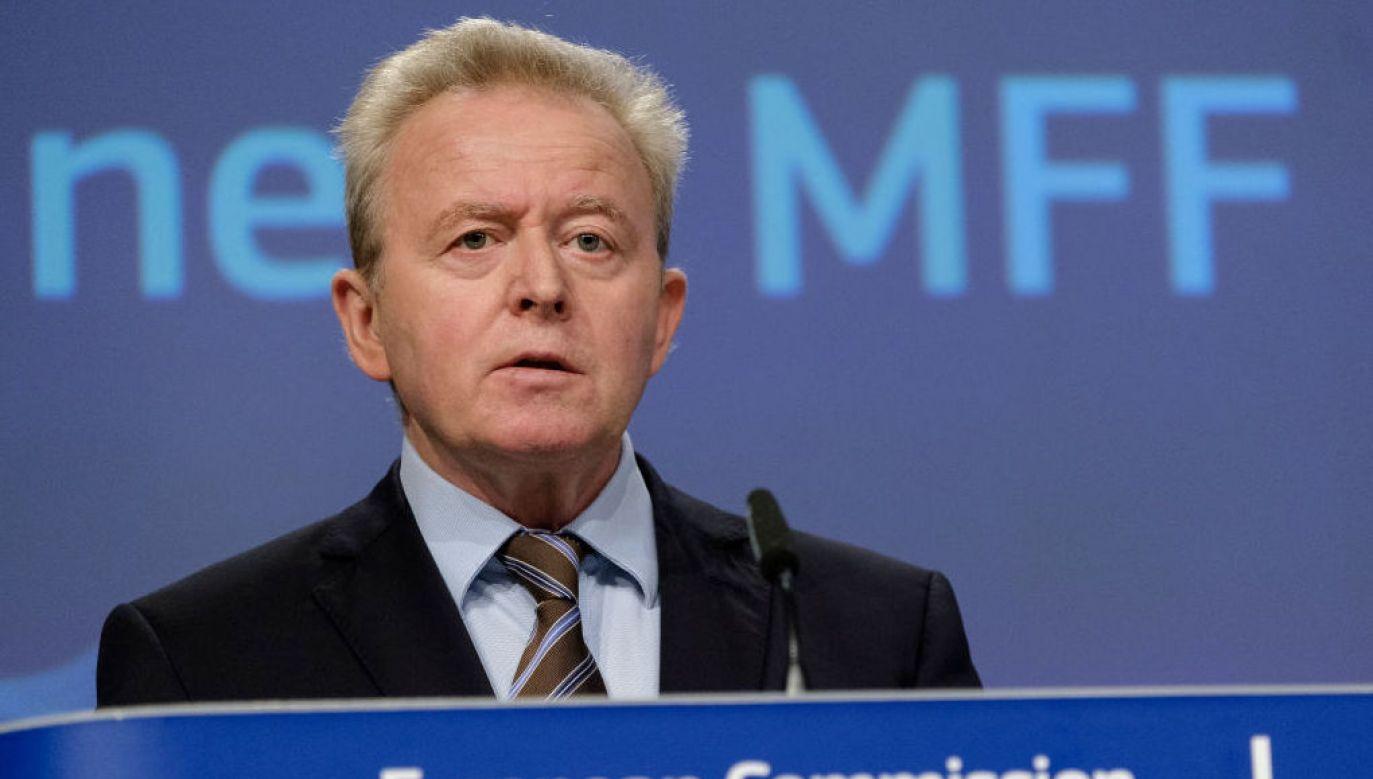 Janusz Wojciechowski o uboju rytualnym (fot. Thierry Monasse/Getty Images)
