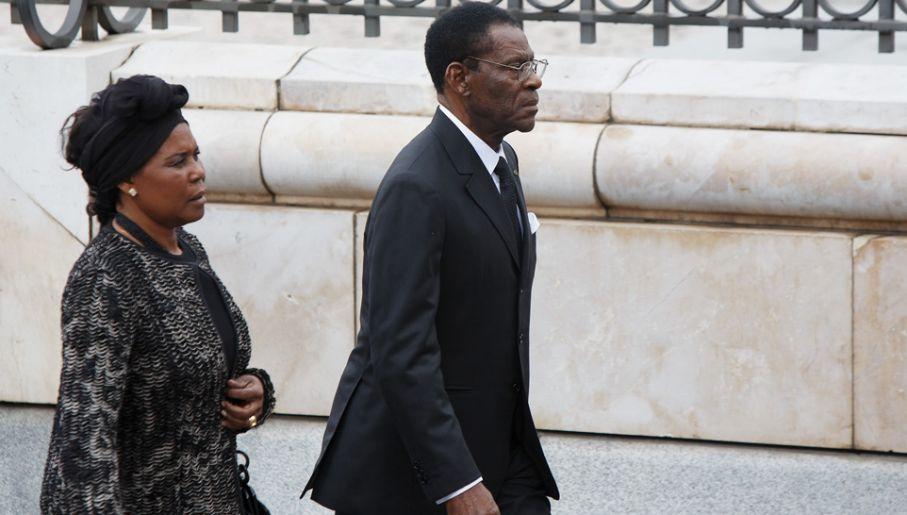 Teodoro Obiang Nguema Mbasogo rządzi nieprzerwanie Gwineą Równikową od 1979 roku (fot. Pablo Blazquez Dominguez/Getty Images)