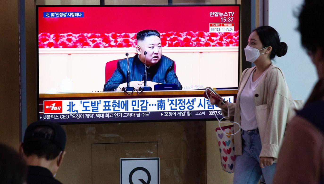 Korea Północna stanowi zagrożenie dla pokoju na świecie (fot. PAP/EPA/JEON HEON-KYUN)