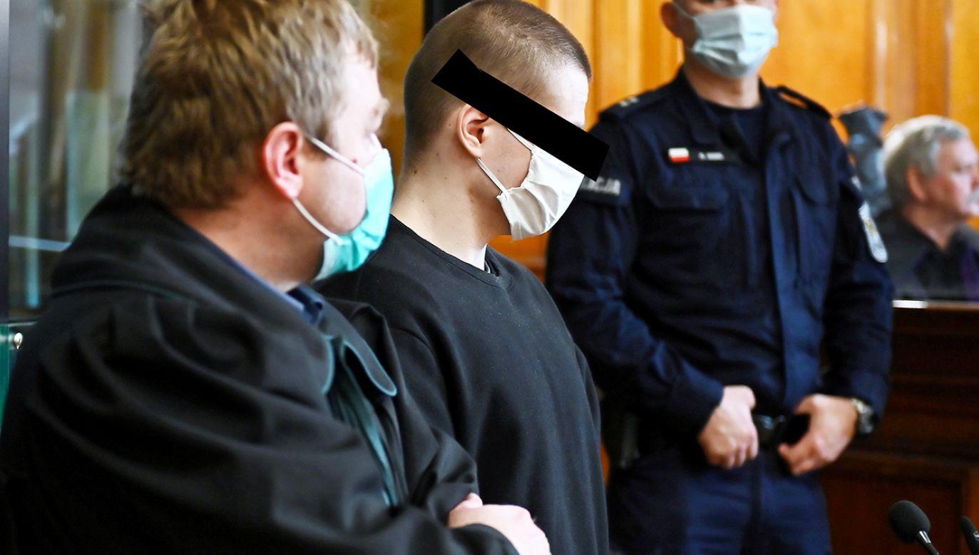 Ruszył proces Patryka D. oskarżonego o zabójstwo byłej dziewczyny (fot. PAP/Marcin Gadomski)