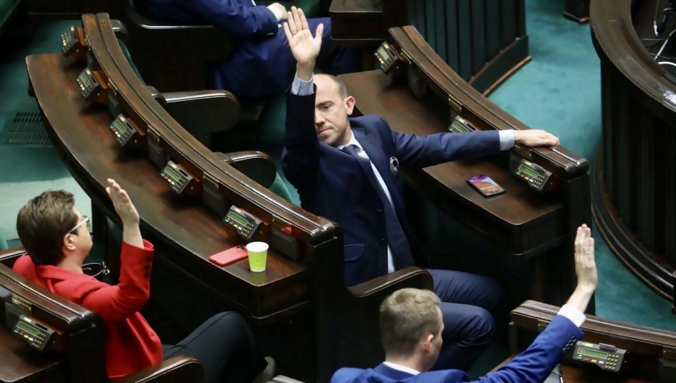 Publicysta odniósł się do sytuacji, jaka panuje na opozycji (fot. PAP/Wojciech Olkuśnik)