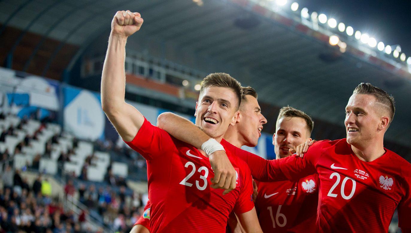 Polacy awansowali dzięki wygranym meczom z Izraelem i Słowenią (fot. Jan Hetfleisch - UEFA/UEFA via Getty Images)