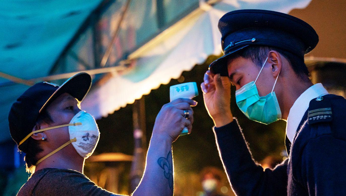 Pod koniec grudnia Tajwan wysłał do WHO ostrzeżenie (fot. Anthony Kwan/Getty Images)
