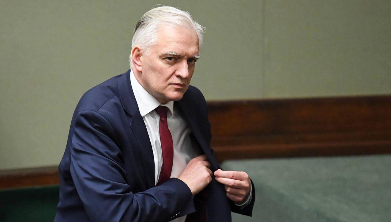 Jarosław Gowin (fot. PAP/Radek Pietruszka)