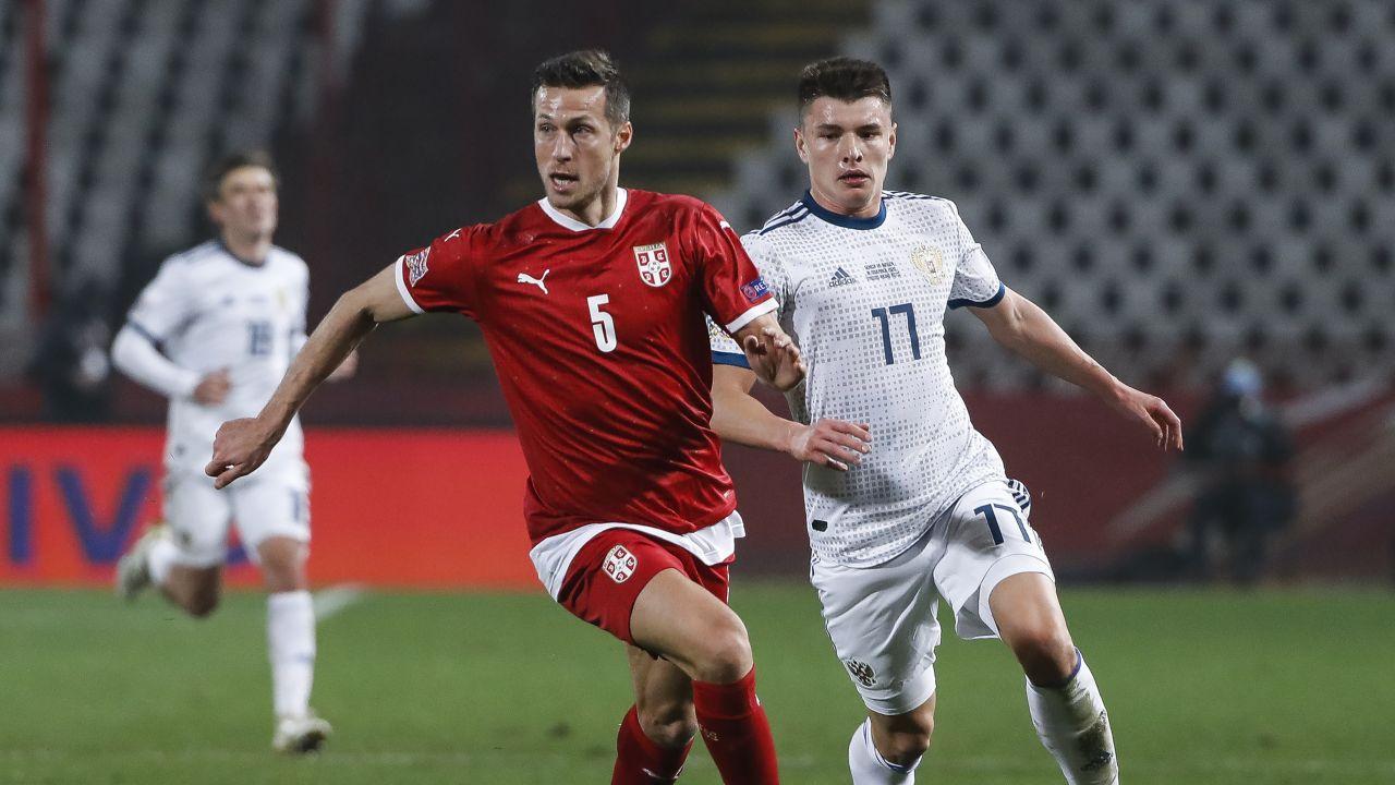 Uros Spajić i Andriej Mostowoj (fot. Getty Images)