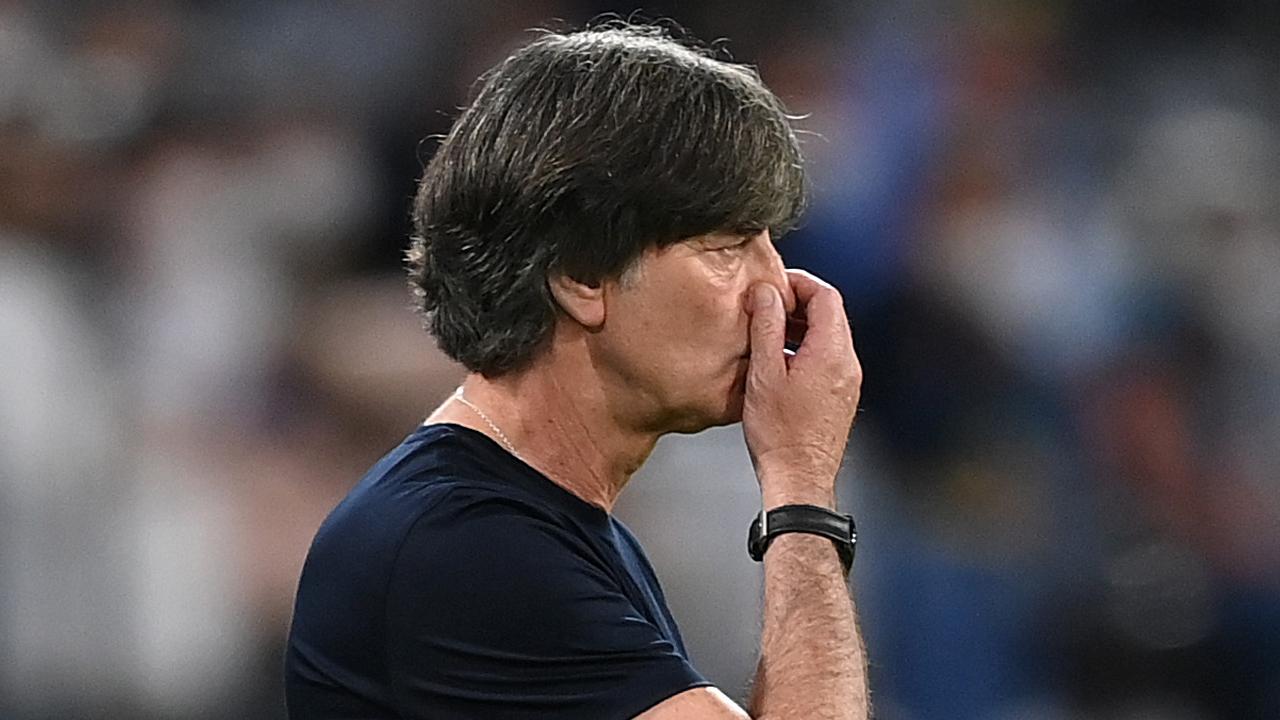 Joachim Loew już przepraszał za swoje reakcje (fot. Getty)