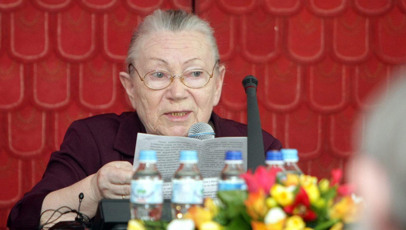 Anna Walentynowicz zginęła w katastrofie smoleńskiej 10 kwietnia 2010 r. (fot. arch. PAP/Leszek Szymański)
