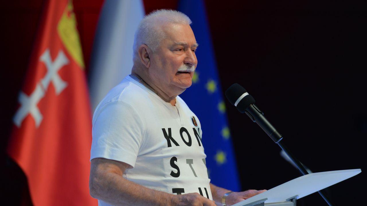 Lech Wałęsa, były prezydent RP i wieloletni lider Solidarności (fot. Artur Widak/NurPhoto via Getty Images)