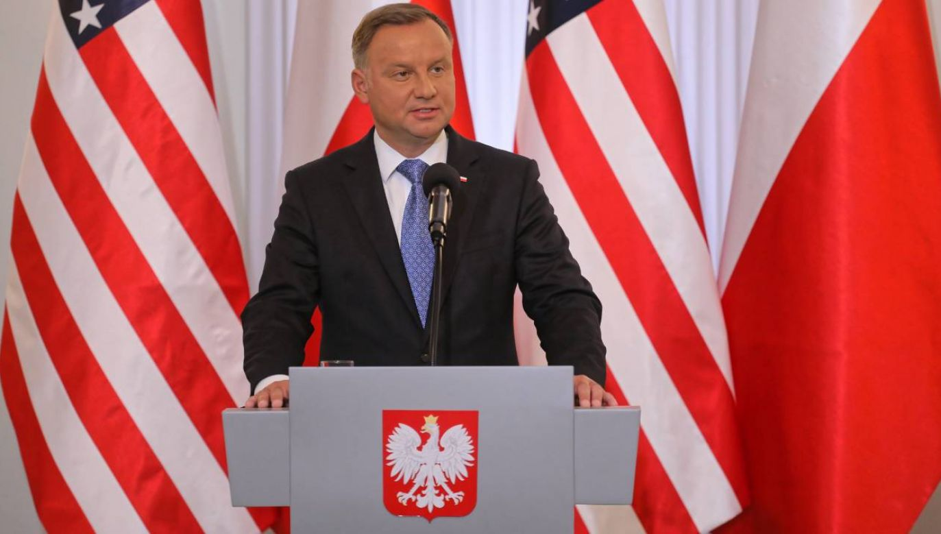 Prezydent o zacieśnianiu współpracy z USA (fot. PAP/Paweł Supernak)