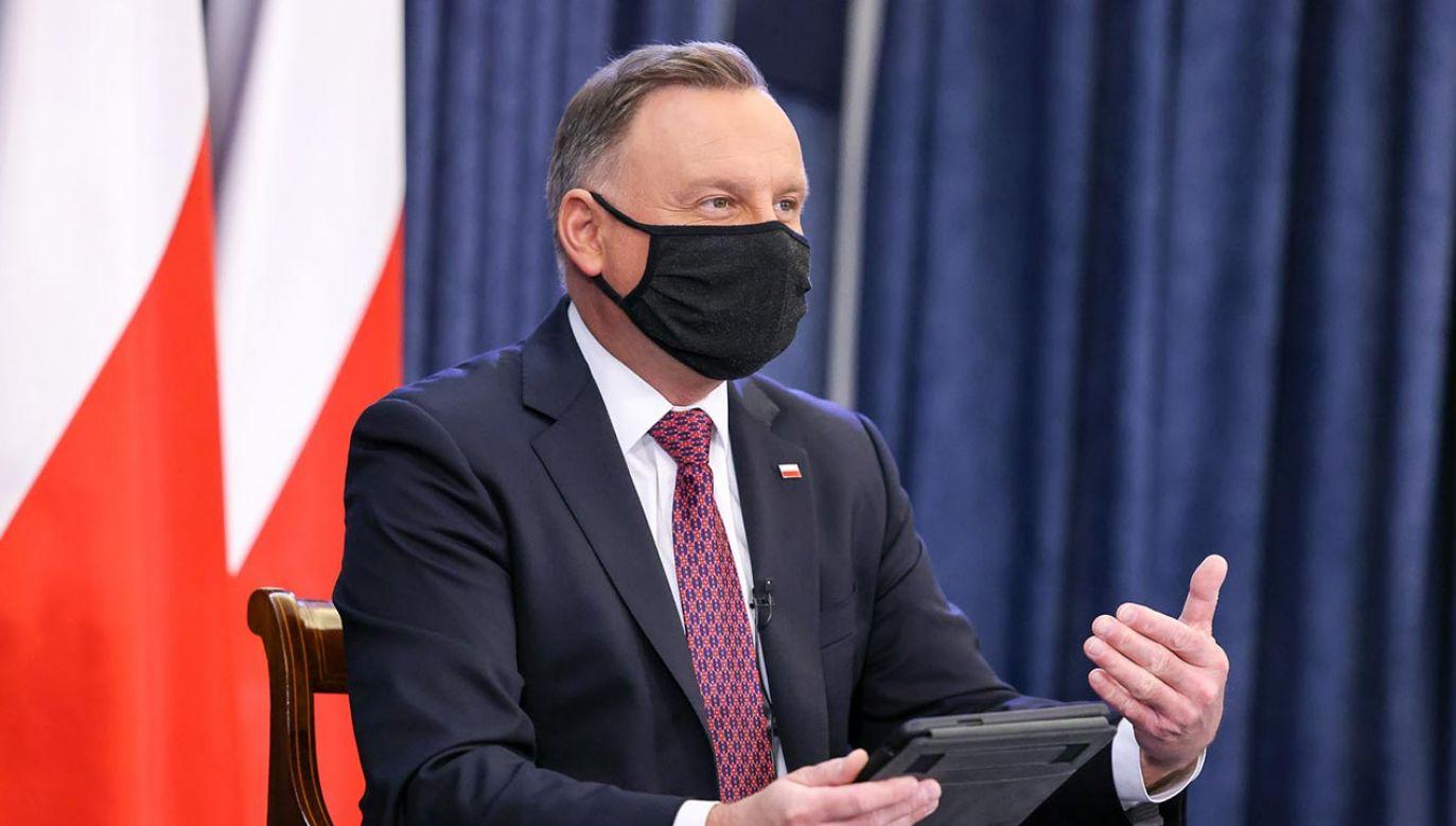 Prezydent i ministrowie odpowiadają na pytania (fot. Jakub Szymczuk/KPRP)