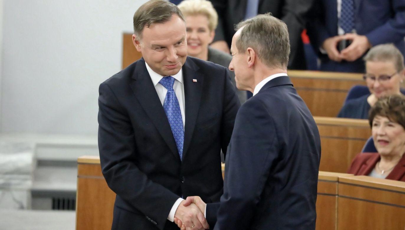 O spotkanie zabiegał Tomasz Grodzki – poinformował Krzysztof Szczerski (fot. PAP/Tomasz Gzell)