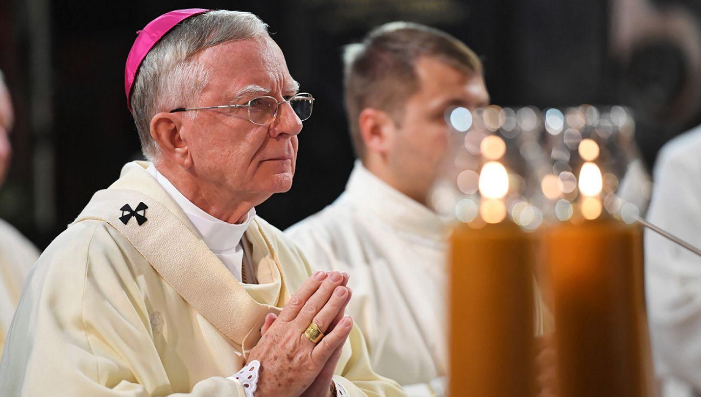 Oświadczenie Archidiecezji Krakowskiej ws. abp. Jędraszewskiego (fot. arch. PAP/Jacek Bednarczyk)