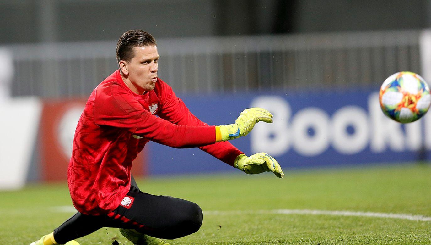 Wojciech Szczęsny ma szansę na Złotą Piłkę w kategorii bramkarzy. (fot.PAP/Leszek Szymański)
