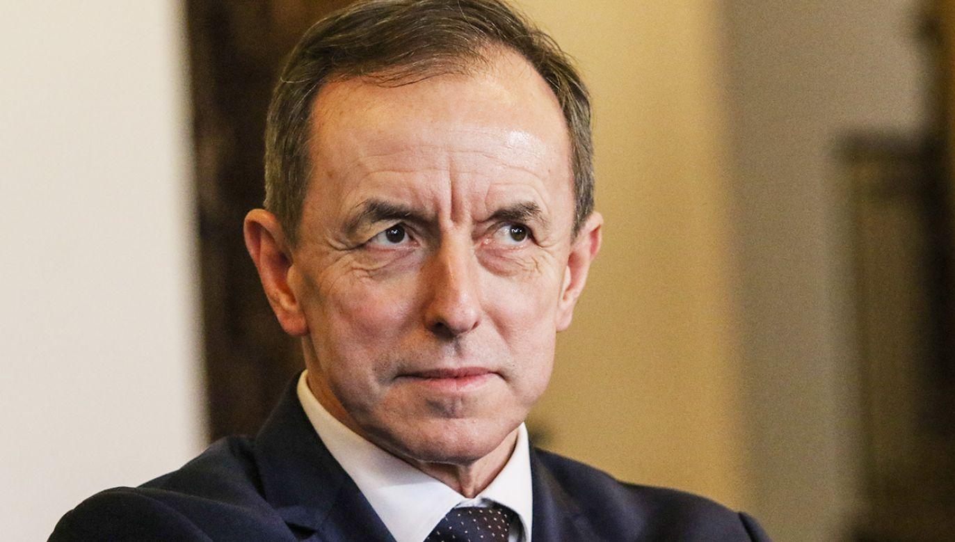 Marszałek Senatu Tomasz Grodzki (fot. Michal Fludra/NurPhoto via Getty Images)