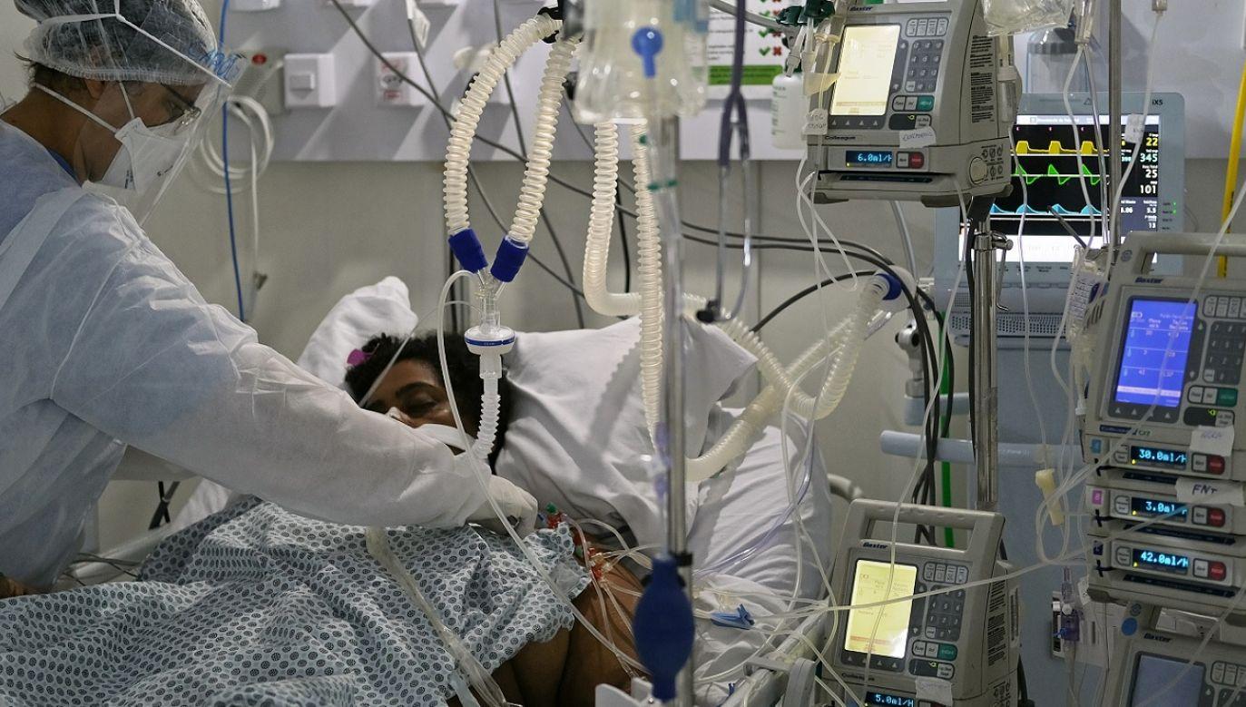 Po Stanach Zjednoczonych Brazylia jest krajem najpoważniej dotkniętym skutkami pandemii (fot. Reuters/Ricardo Moraes)