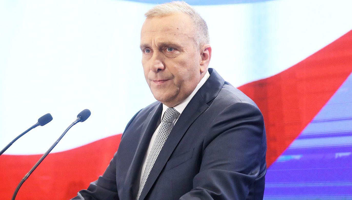 """""""Wiadomo, że druga kadencja PiS oznacza wielkie wstrząsy w Platformie"""" (fot. PAP/Rafał Guz)"""