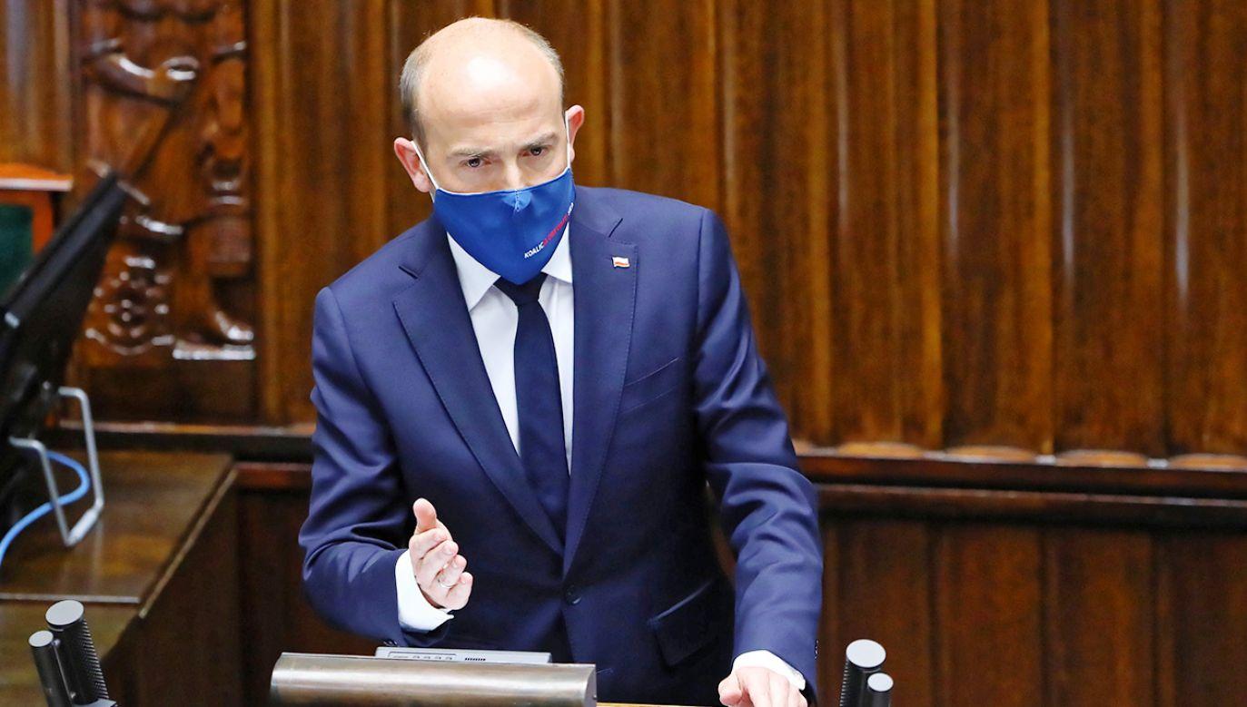 Skończył się mit Platformy Obywatelskiej jako proeuropejskiej, racjonalnej partii – pisze autor (fot. PAP/Rafał Guz)