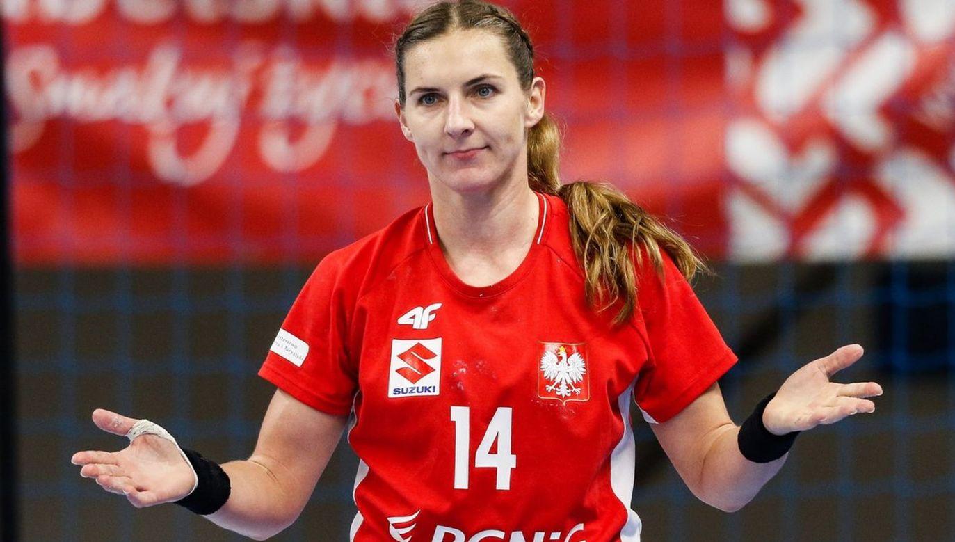 Karolina Kudłacz-Gloc doznała poważnego urazu barku i nie zagra na ME 2020 (fot. ZPRP)
