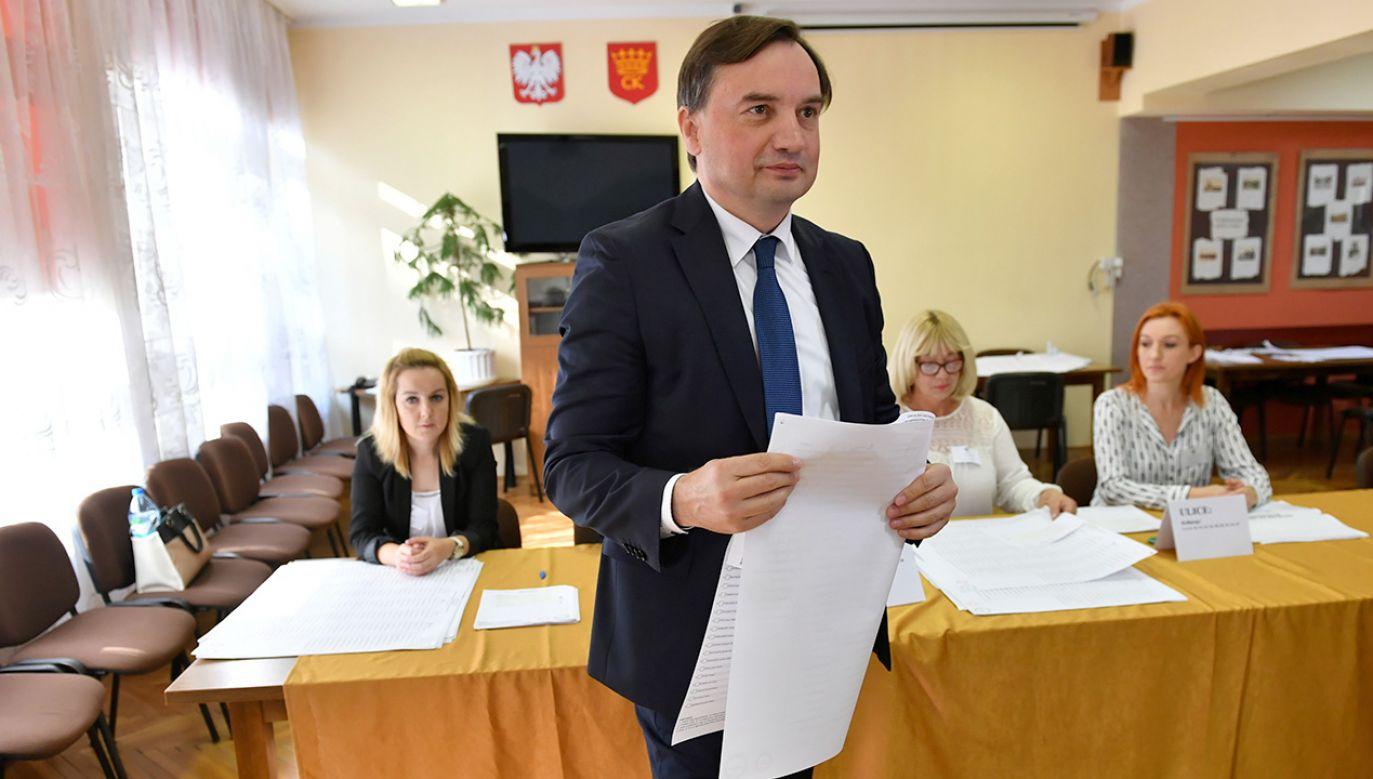 Solidarna Polska wprowadziła do Sejmu 18 posłów (fot. PAP/Piotr Polak)