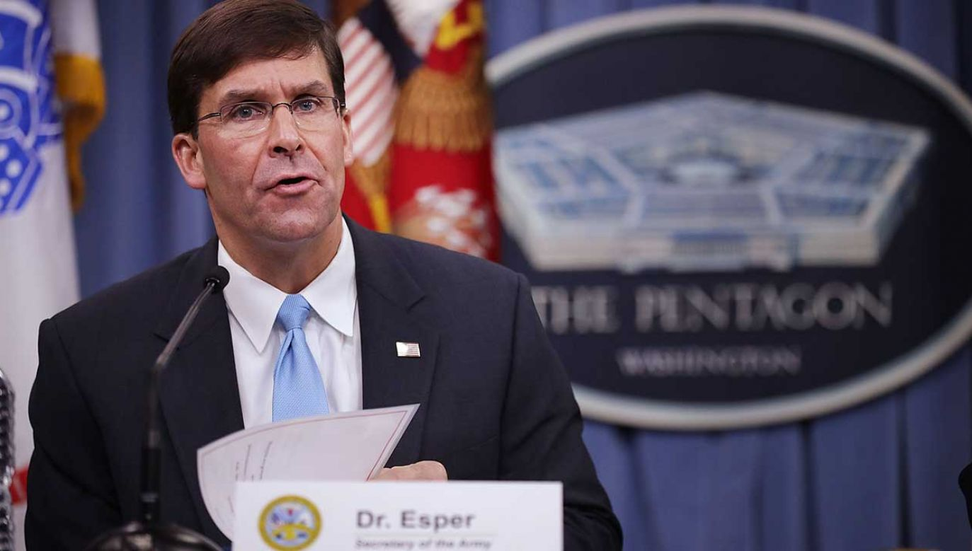 Za kandydaturą Espera głosowało 90 senatorów, przeciwnych było dziewięciu (fot. Chip Somodevilla/Getty Images)