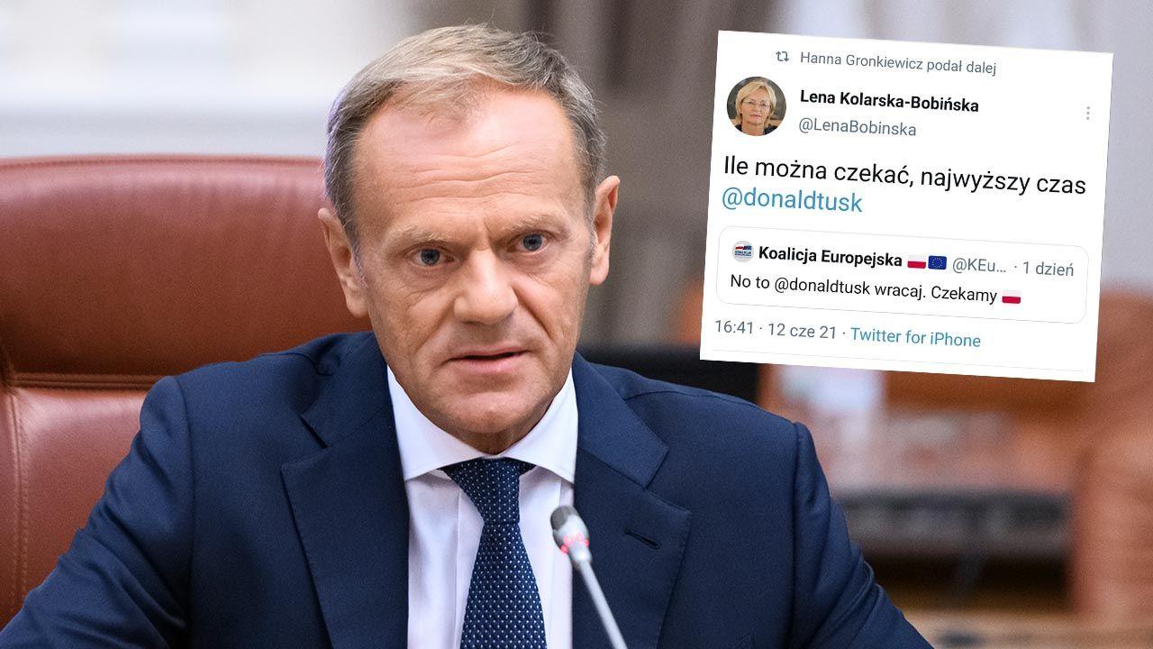 Tusk naprawdę wróci do polskiej polityki? (fot.  Maxym Marusenko/NurPhoto via Getty Images)