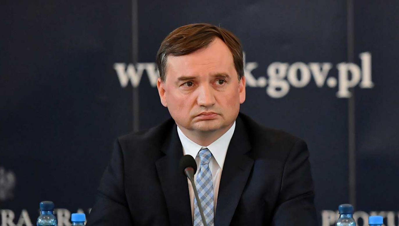 Minister sprawiedliwości odpowiedział w ten sposób na apel o swoją dymisję (fot. PAP/Piotr Nowak)