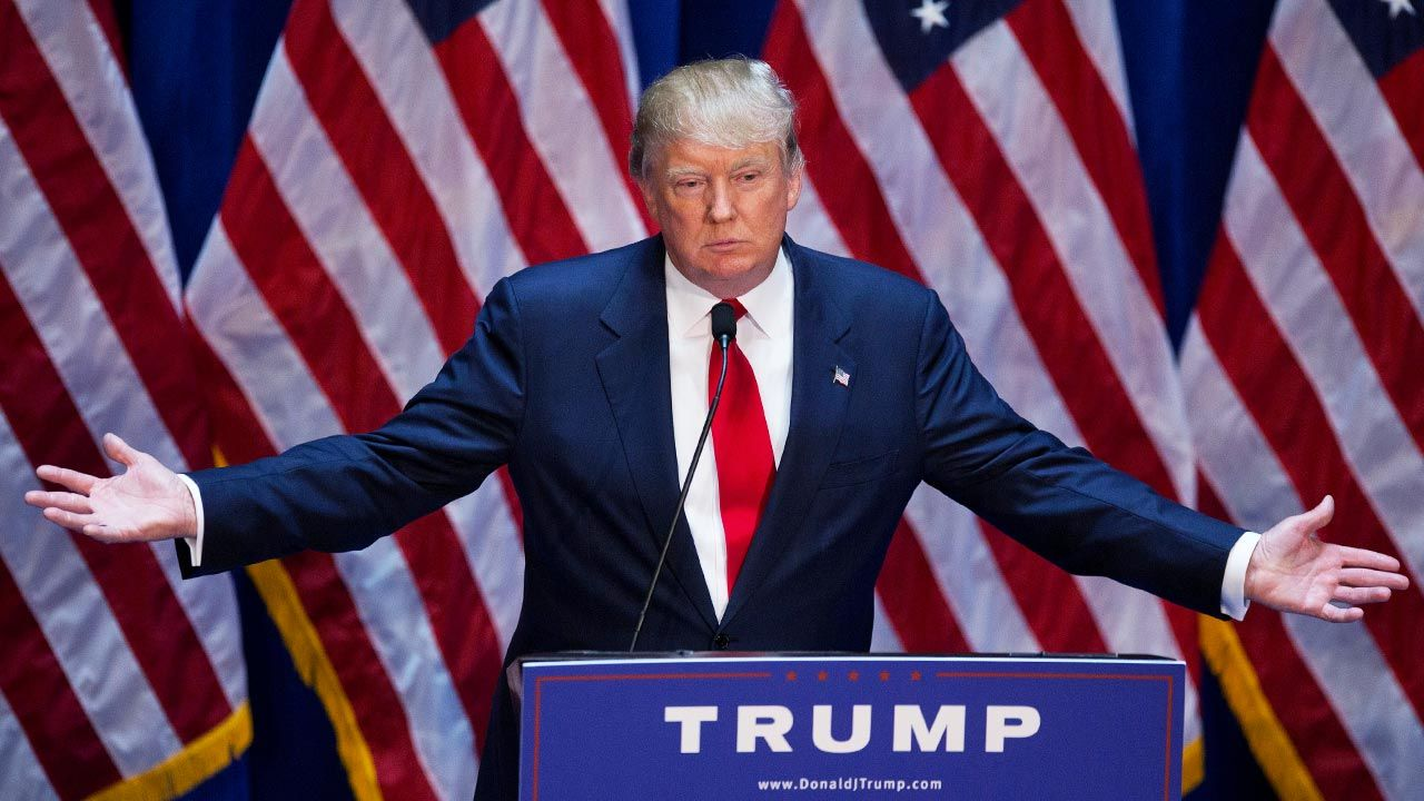 Kadencja Donalda Trumpa kończy sięw przyszłym roku (fot. Victor J. Blue/Bloomberg via Getty Images)