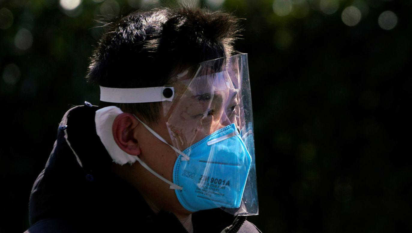W całych Chinach zarażonych jest ponad 74,5  tys. osób (fot. Reuters/Aly Song)
