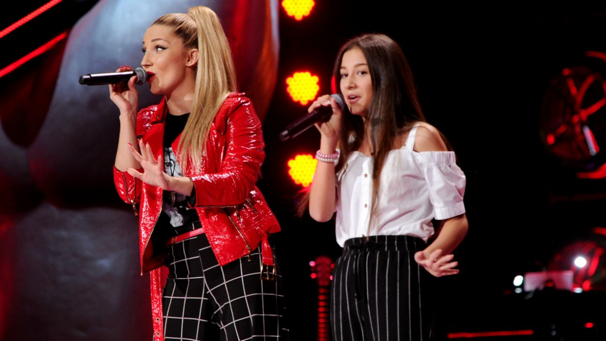 Duet z Cleo na scenie przekonał Cornelię do wyboru trenerki (fot. TVP)
