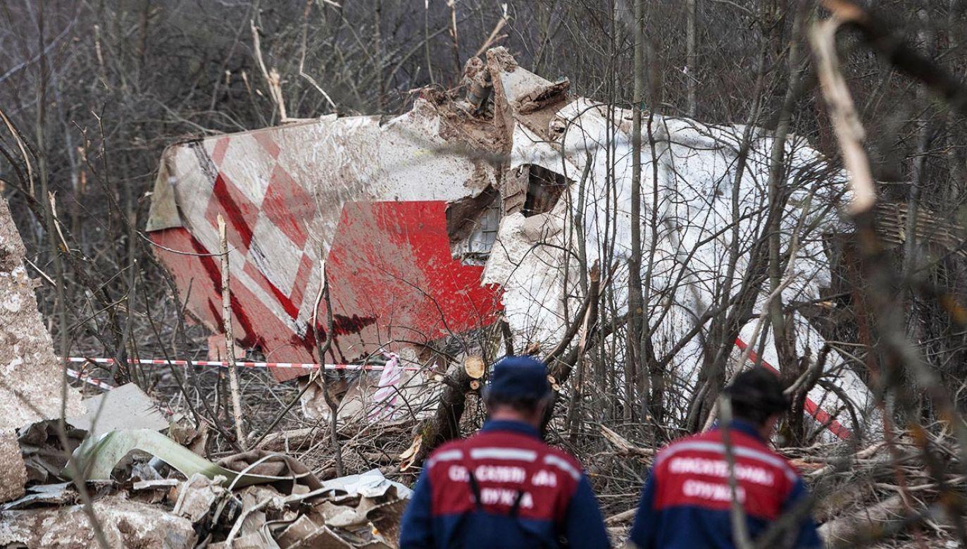 Według podkomisji smoleńskiej w samolocie do Smoleńska w 2010 roku miało dojść do dwóch wybuchów (fot. Forum/Maksymilian Rigamonti)
