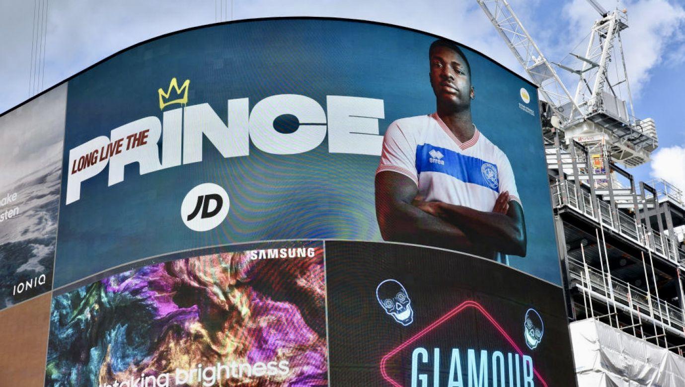 Kiyan Prince grał w młodzieżowej drużynie piłkarskiej Queens Park Rangers  (fot. M.Chattle/Barcroft Media/Getty Images)