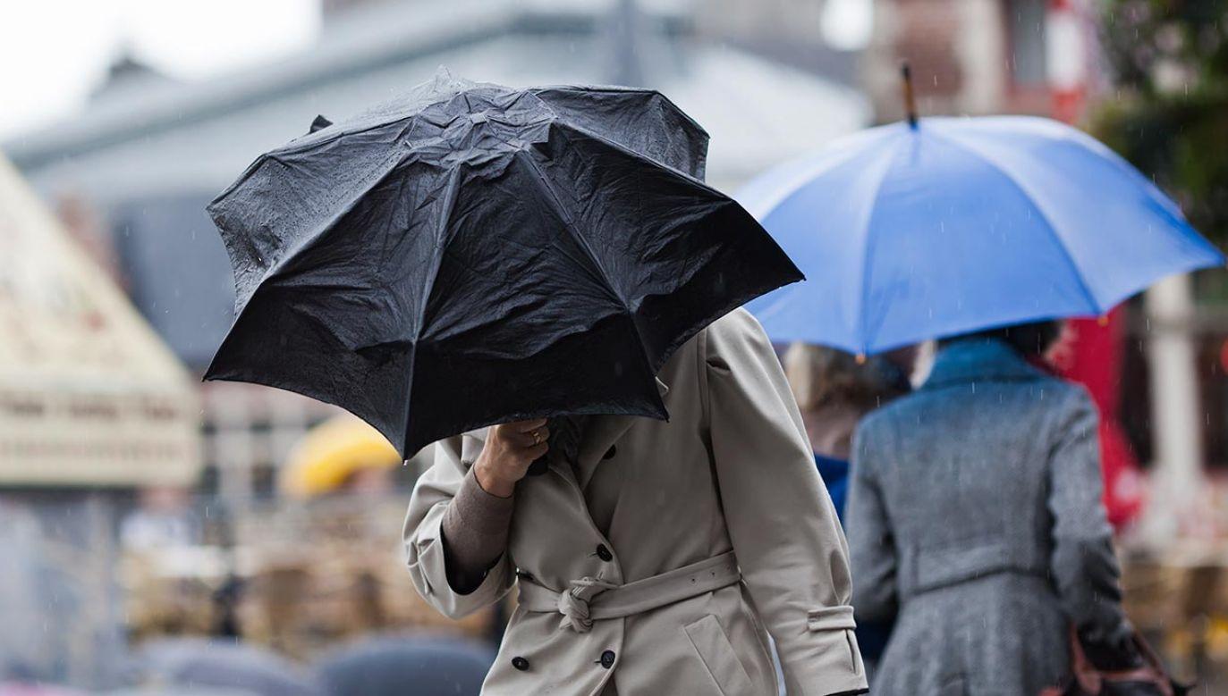 Po ciepłym i suchym początku tygodnia środa przynosi w kraju ochłodzenie oraz opady deszczu i burze (fot. Shutterstok/Christian Mueller)