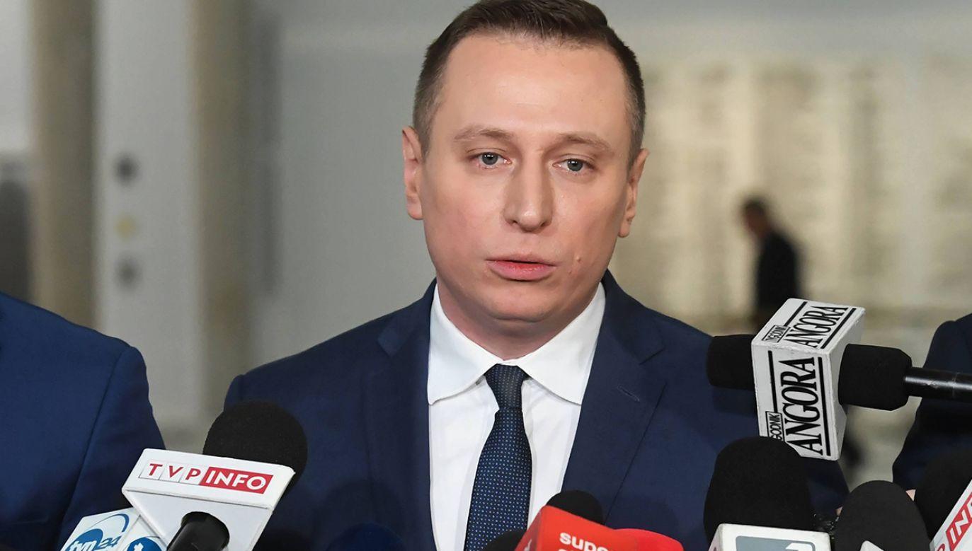 """""""Mieszkańcom Inowrocławia należy się prawda"""" (fot. arch. PAP/Piotr Nowak)"""