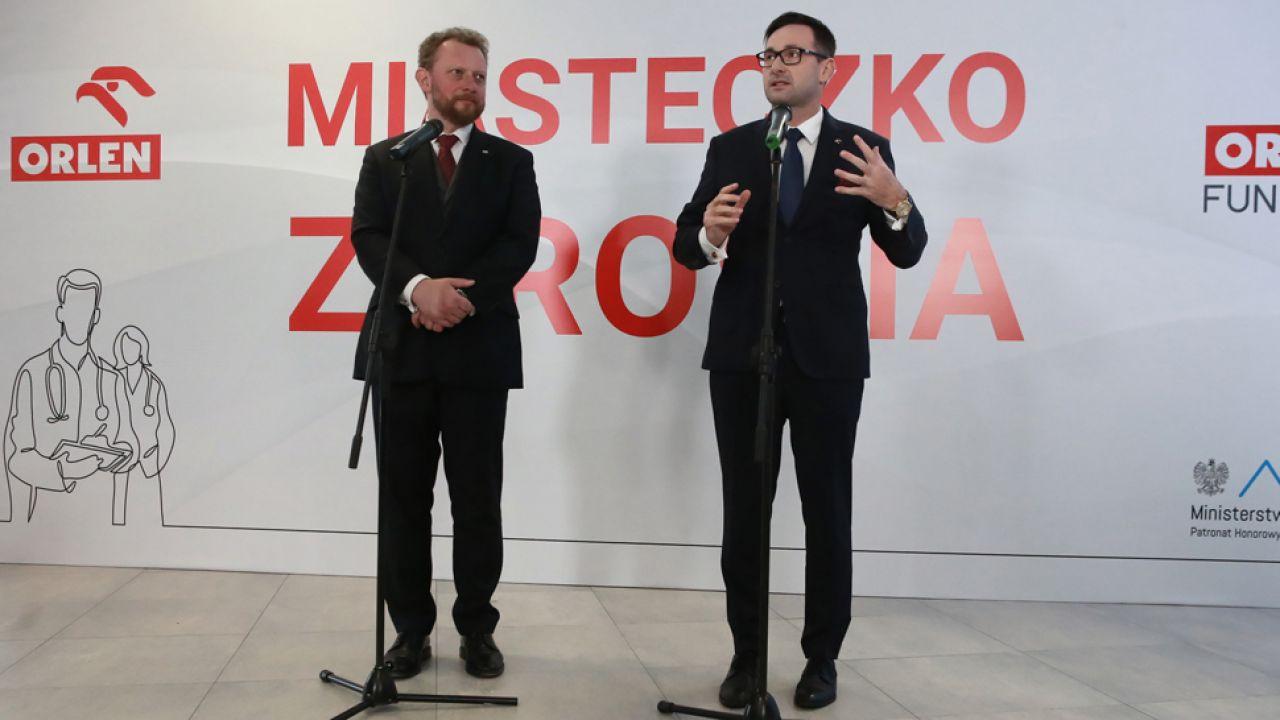 W połowie września PKN Orlen podpisał z Centrum Onkologii - Instytutem im. M. Skłodowskiej-Curie umowę na realizację programu zdrowotnego dla mieszkańców Płocka i tamtejszego powiatu (fot. PAP/Piotr Augustyniak)