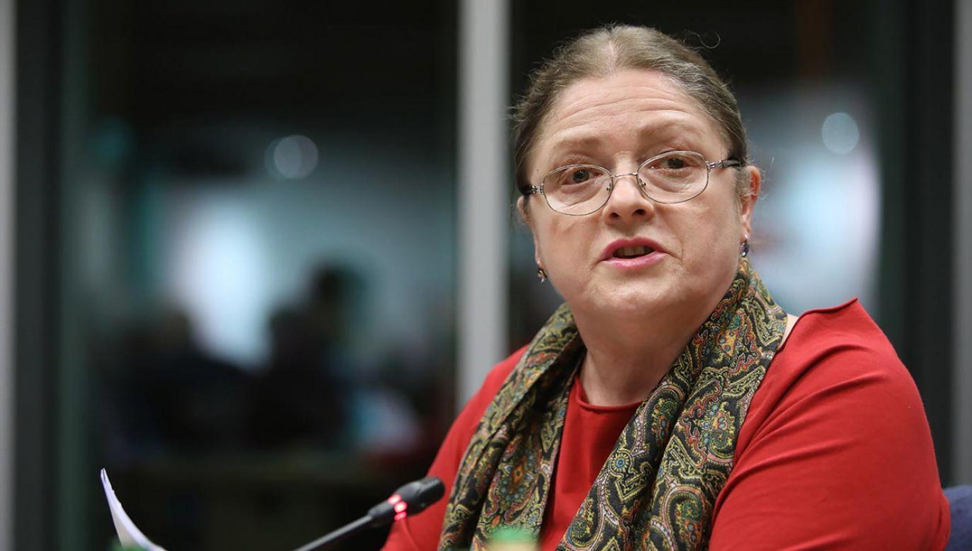 Krystyna Pawłowicz wystosowała apel do redakcji (fot. PAP/Leszek Szymański)