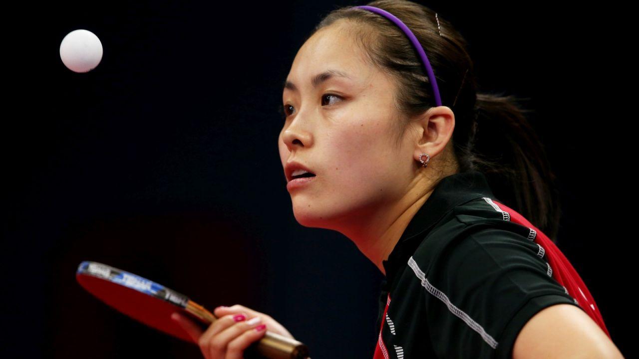 Li Qian zakończyła olimpijski turniej singlistek na drugiej rundzie (fot. Getty)