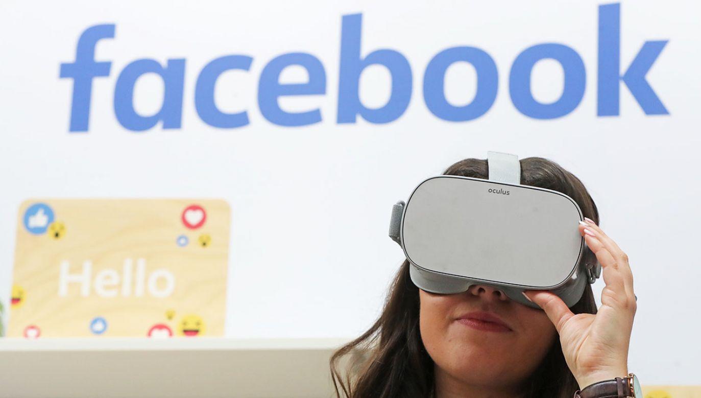 W 2014 roku Facebook przejął firmę Oculus produkującą gogle wirtualnej rzeczywistości (fot. Niall Carson/PA Images via Getty Images)