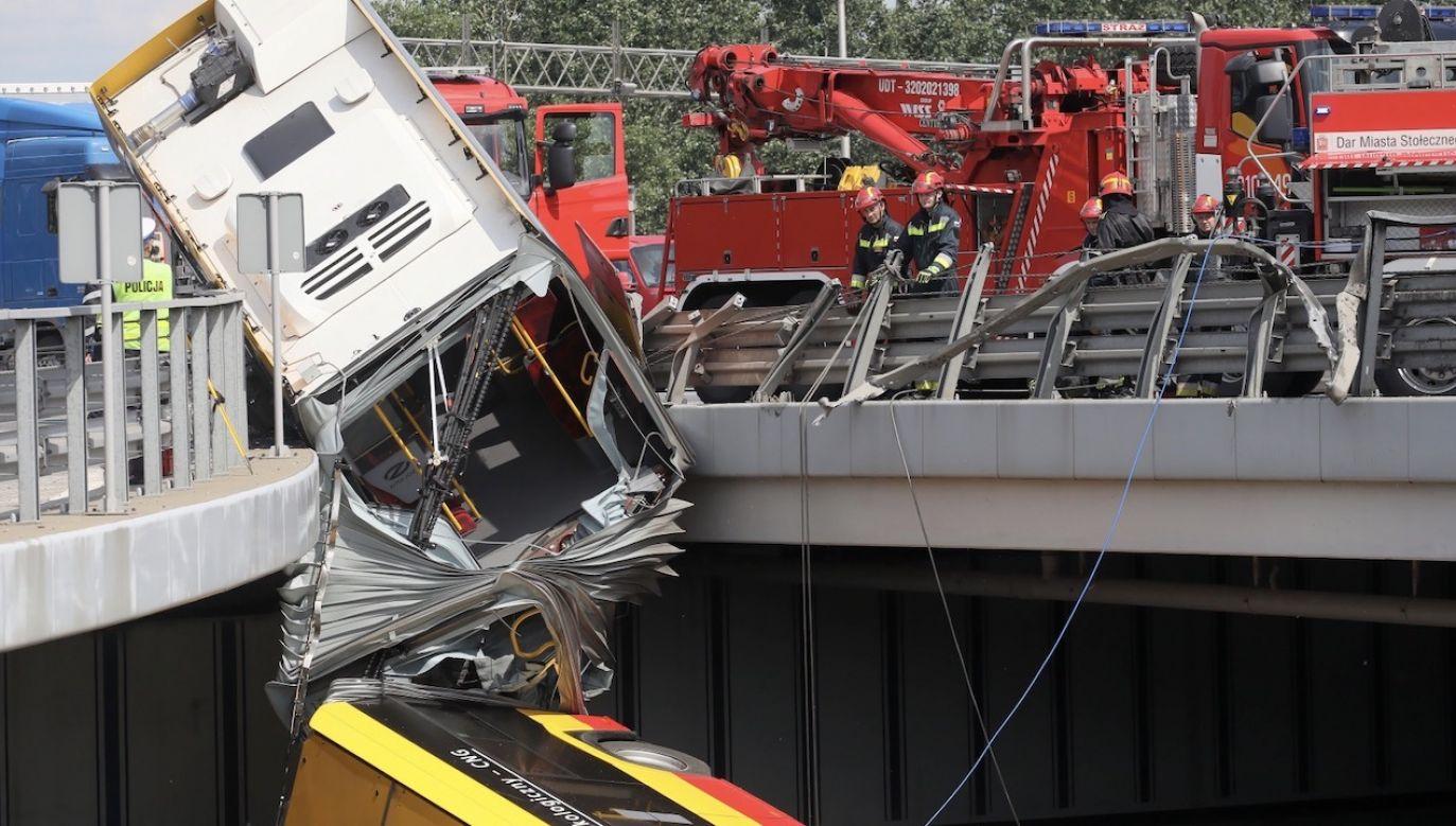 Kierowca był pod wpływem metamfetaminy (fot. PAP/Paweł Supernak)