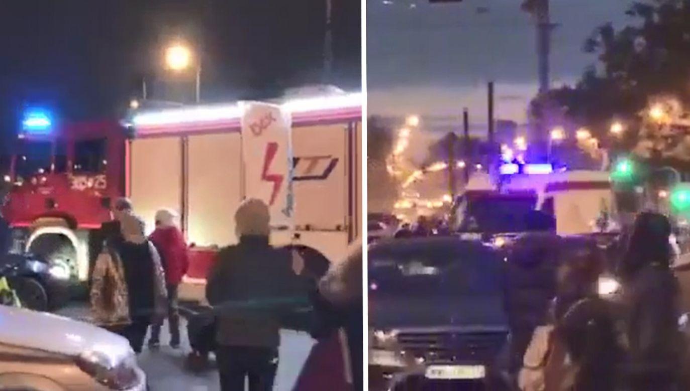 Do sytuacji doszło na warszawskiej Pradze (fot. portal tvp.info)